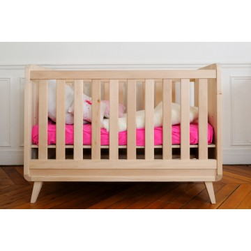 Lit bébé bois massif fabriqué en france - Idées de tricot gratuit