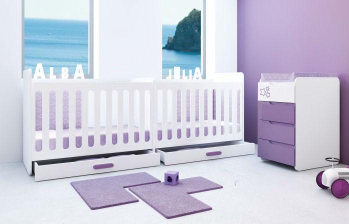 Lit bebe special jumeaux - Idées de tricot gratuit
