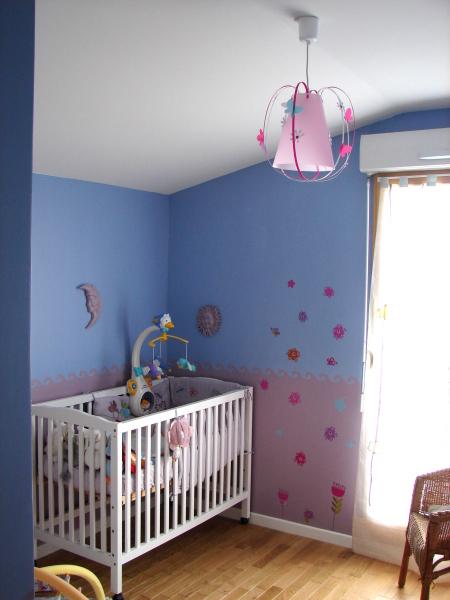 Deco Chambre Fille Rose Et Bleu
