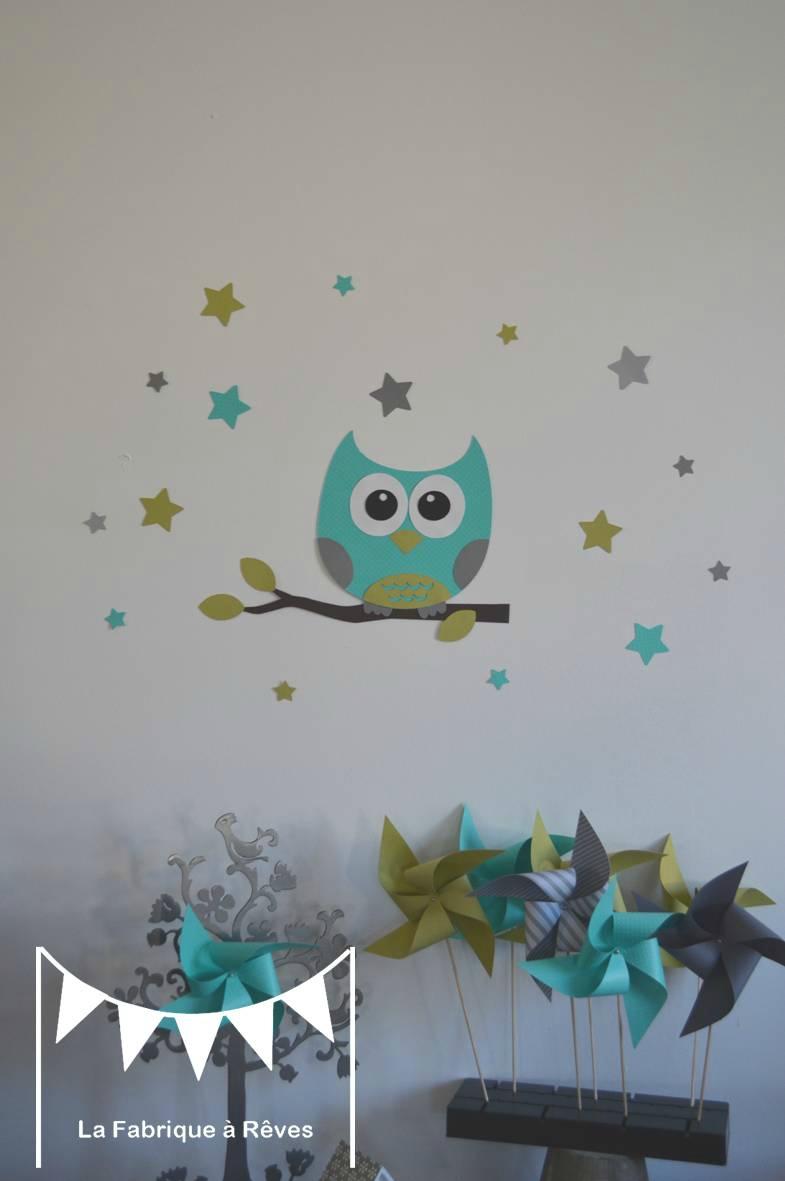 Décoration chambre bébé hiboux - Idées de tricot gratuit