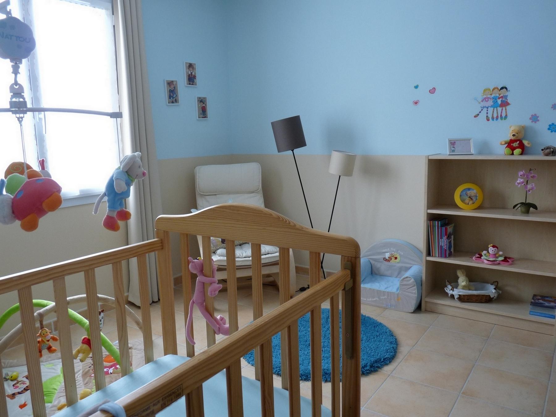 Idées couleurs chambre bébé garçon - Idées de tricot gratuit