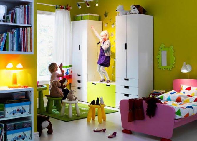 Chambre pour petite fille ikea - Idées de tricot gratuit