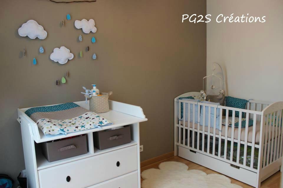 Decoration chambre bebe turquoise - Idées de tricot gratuit