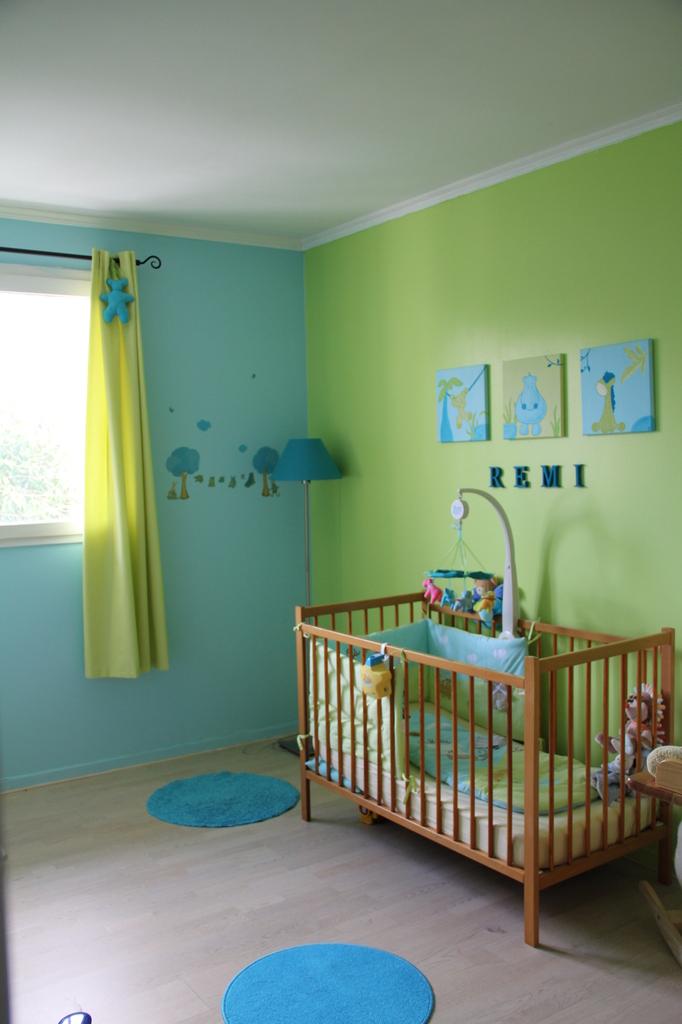 Stunning Chambre Bebe Marron Et Bleu 2 Pictures - House Design ...