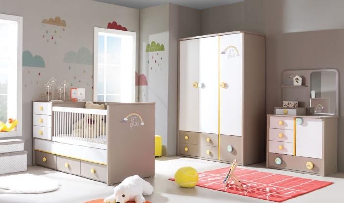 Quelle couleur pour une chambre bébé mixte - Idées de tricot gratuit