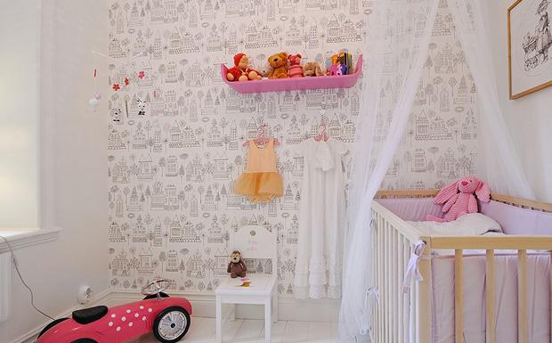tapisserie graphique chambre b b id es de tricot gratuit. Black Bedroom Furniture Sets. Home Design Ideas
