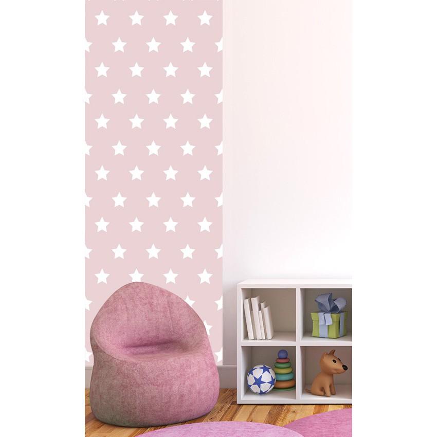 Papier peint chambre bébé etoile - Idées de tricot gratuit