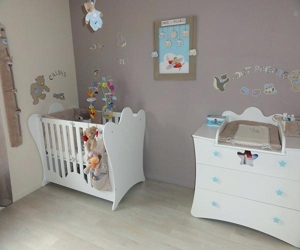 Couleur peinture chambre de bébé - Idées de tricot gratuit