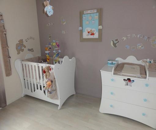 Peinture chambre bébé garçon photos - Idées de tricot gratuit