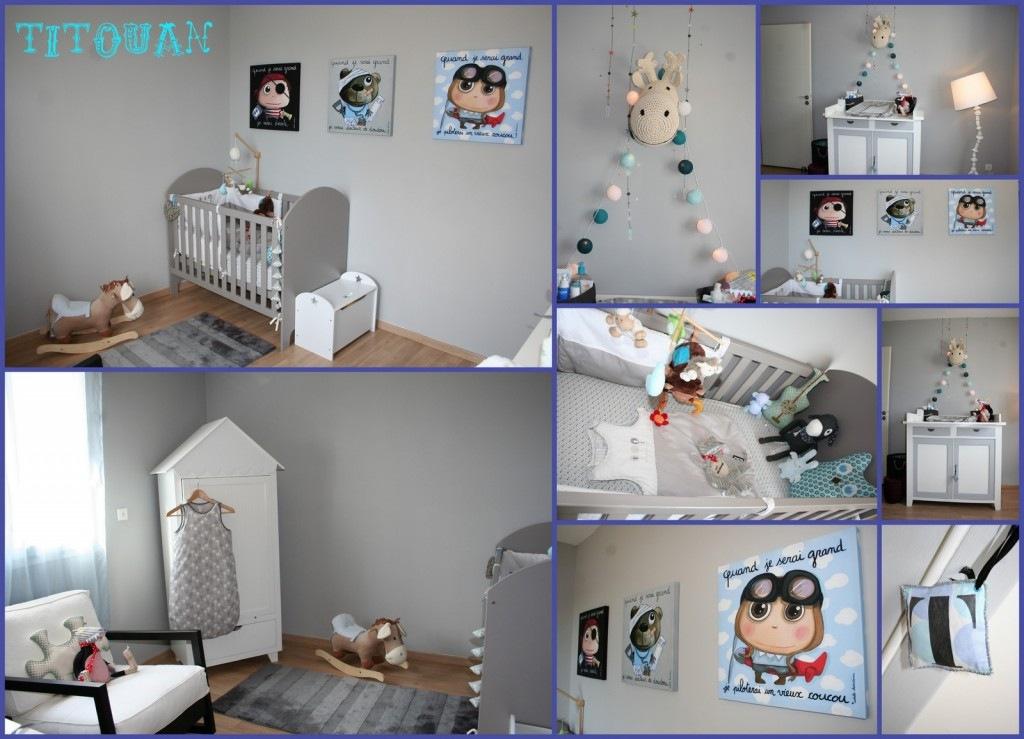 Peinture bleu pour chambre bebe - Idées de tricot gratuit