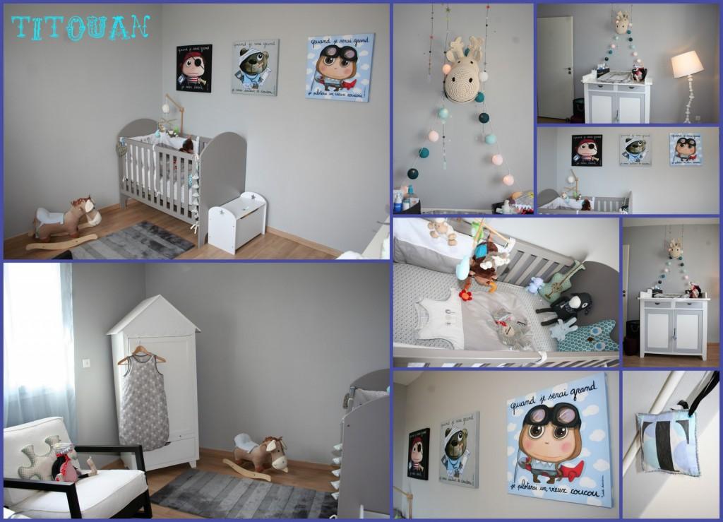 27b8417b0164d1 Decoration chambre bebe fille fait main - Idées de tricot gratuit