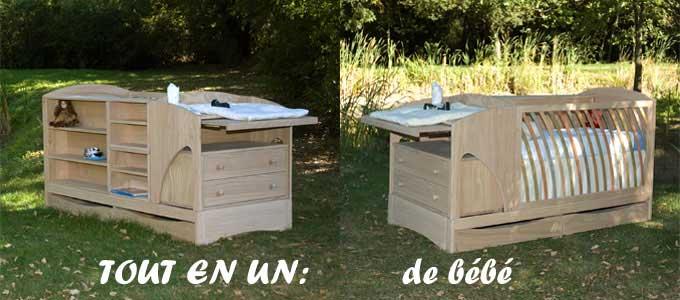 mobilier chambre b b bois massif id es de tricot gratuit. Black Bedroom Furniture Sets. Home Design Ideas