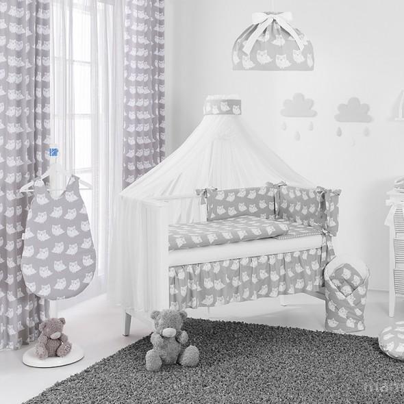 Rideau chambre bébé gris - Idées de tricot gratuit