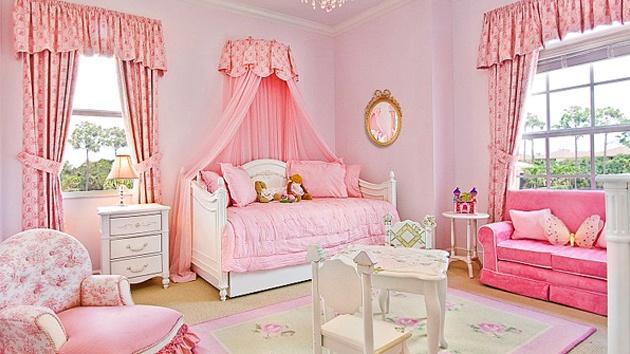 Chambre de bébé fille luxe - Idées de tricot gratuit