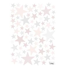 Stickers chambre bébé rose et gris - Idées de tricot gratuit