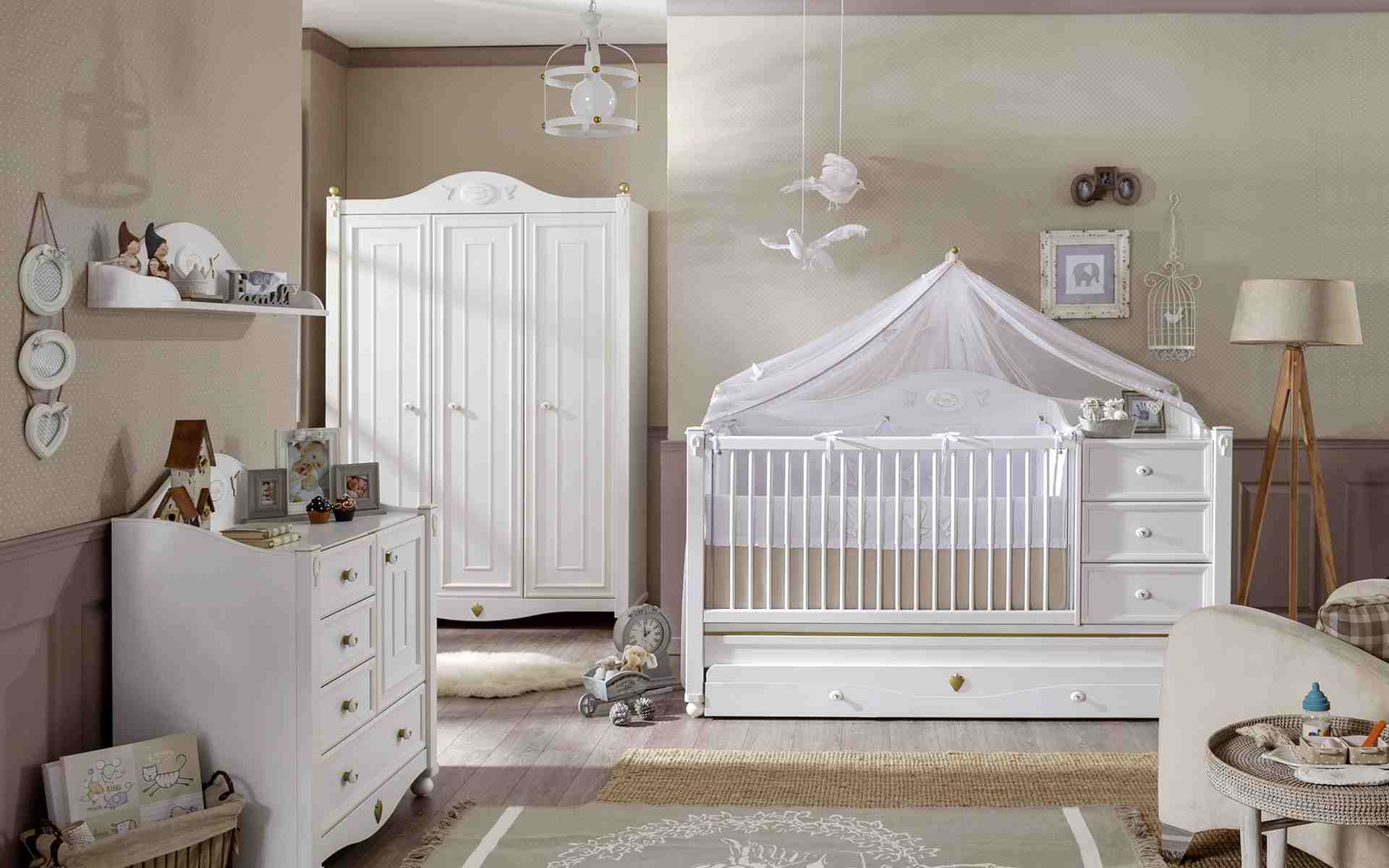 Chambre bebe taupe et lin - Idées de tricot gratuit