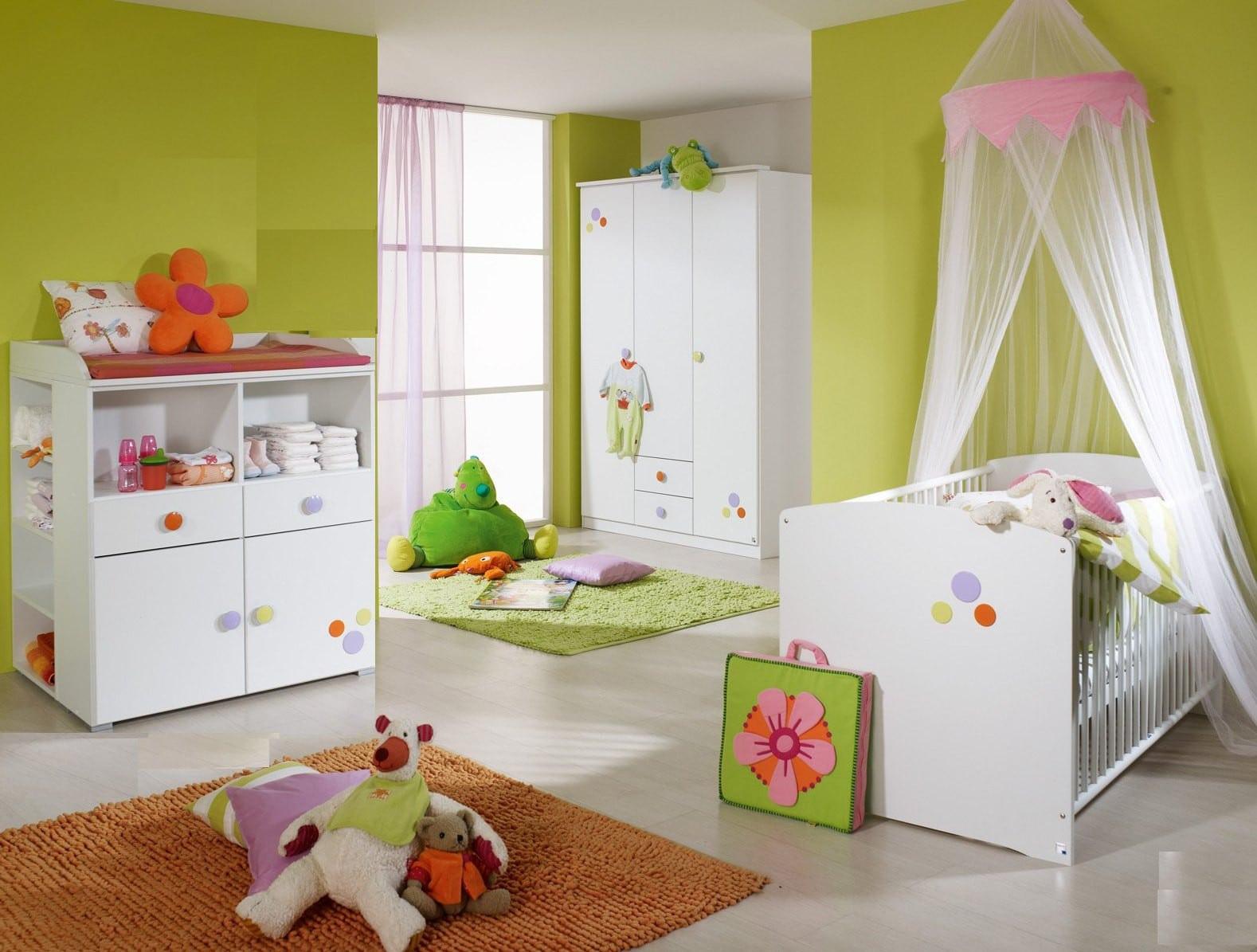 Idée de couleur pour chambre bébé fille - Idées de tricot ...