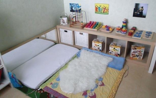 Lit bebe methode montessori