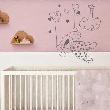 Chambre de bebe lapin