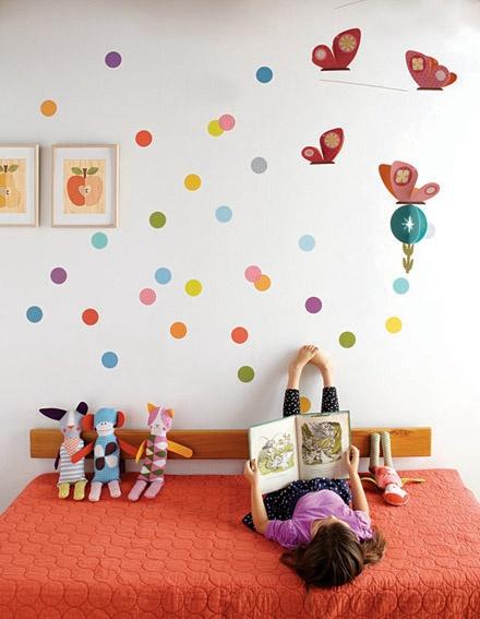 Stickers rond chambre bébé