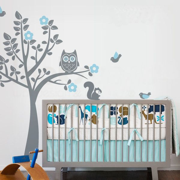 Stunning Stickers Gris Chambre Bebe Pictures - House Design ...