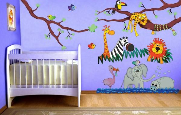 stickers animaux chambre b b garcon id es de tricot gratuit. Black Bedroom Furniture Sets. Home Design Ideas