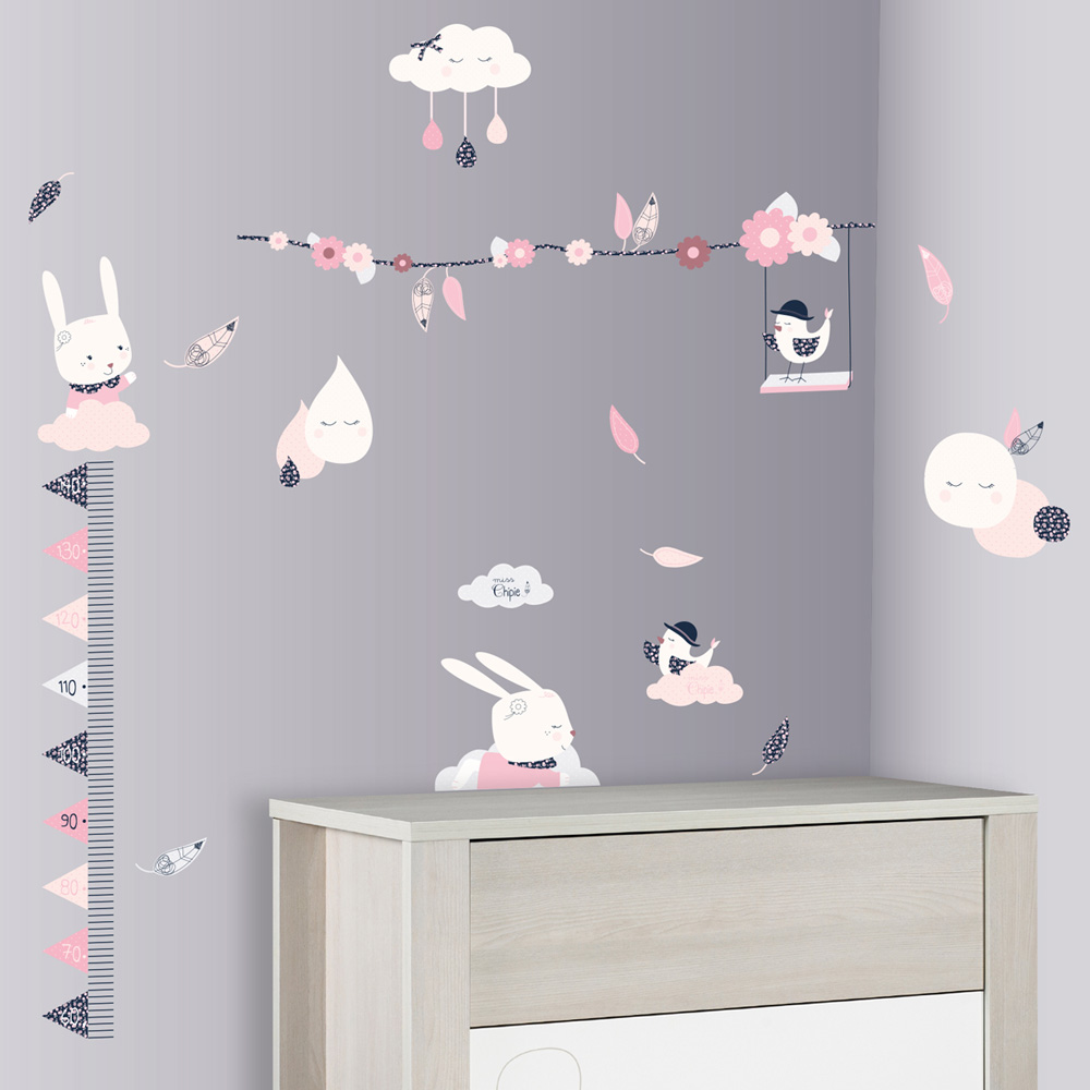 stickers chambre bebe arbre pas cher id es de tricot gratuit. Black Bedroom Furniture Sets. Home Design Ideas