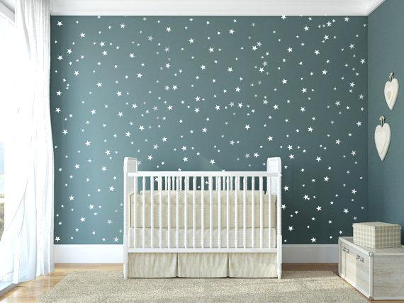 Stickers chambre bébé fille etoile - Idées de tricot gratuit