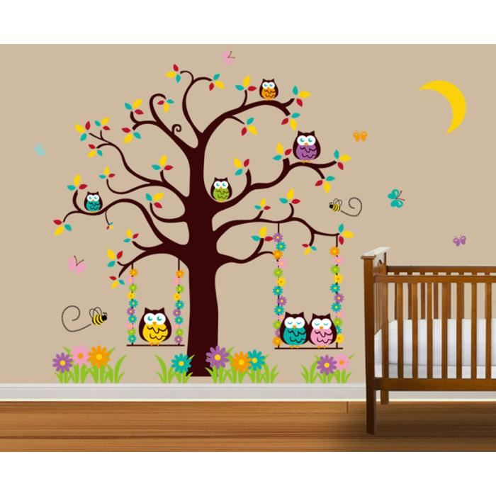 Cdiscount stickers chambre bebe