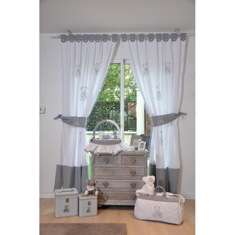 Rideaux chambre bébé savane - Idées de tricot gratuit