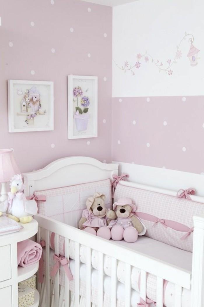 Lit bebe rose pale - Idées de tricot gratuit