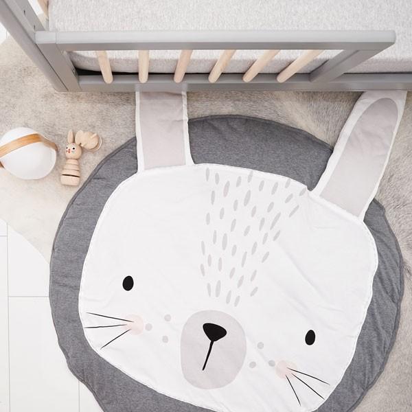 Tapis de chambre bébé - Idées de tricot gratuit