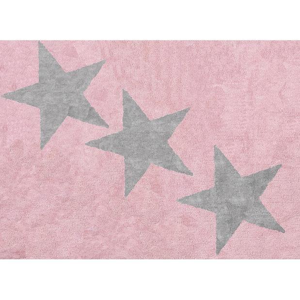 Tapis chambre bébé rose et gris - Idées de tricot gratuit