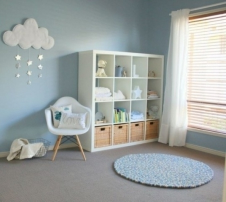 Décoration mur chambre bébé garçon