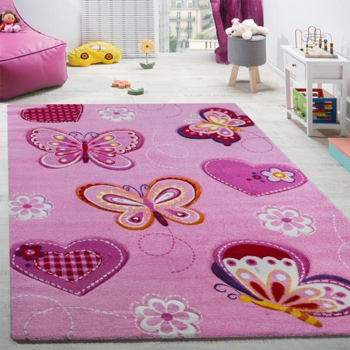 Tapis chambre bébé fille rose - Idées de tricot gratuit