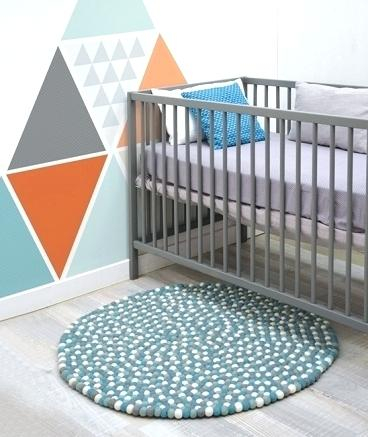Tapis chambre bébé rond - Idées de tricot gratuit
