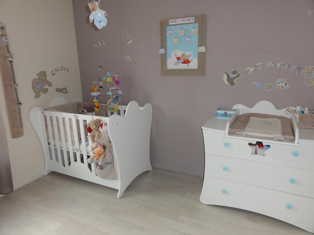 Chambre de bébé garcon idee deco - Idées de tricot gratuit