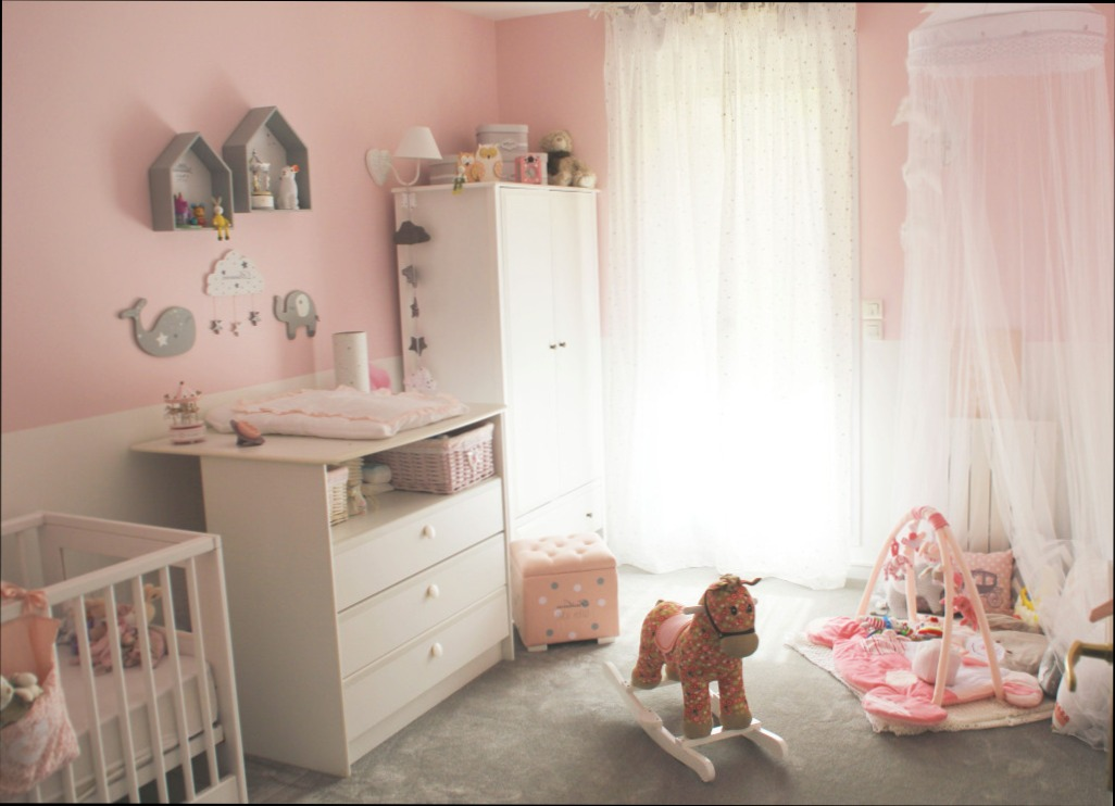Photo decoration chambre bebe fille