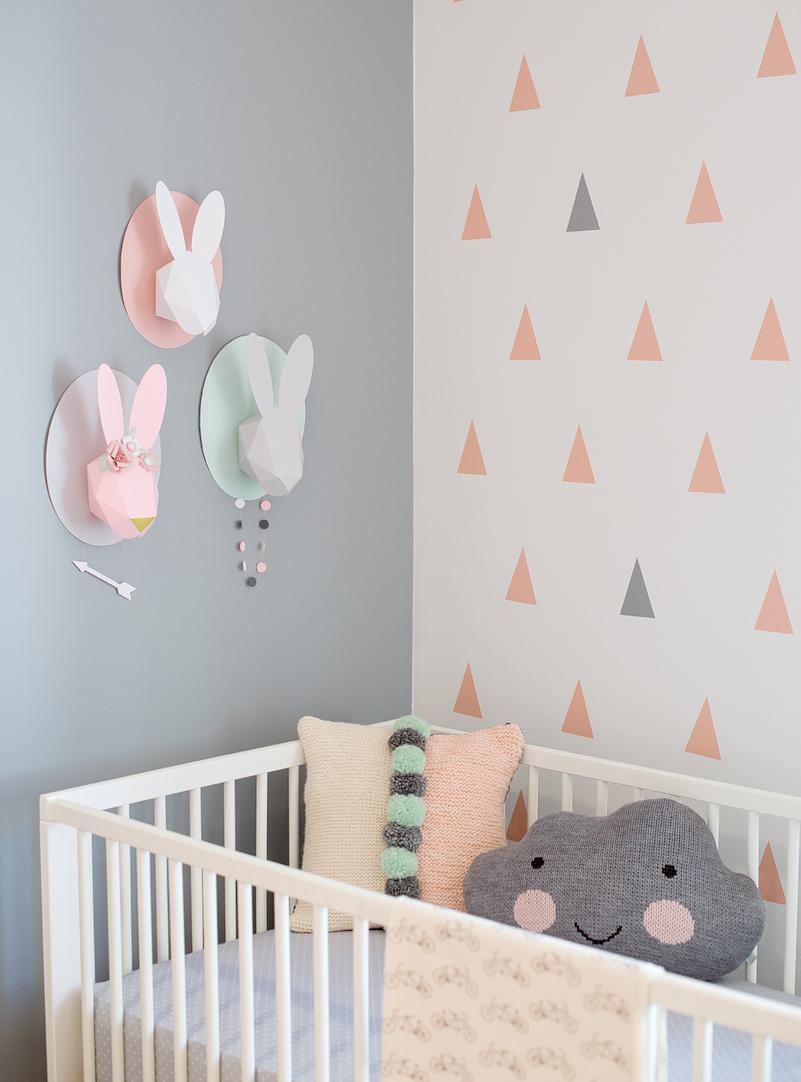 Idee deco chambre bebe fille a faire soi meme - Idées de tricot gratuit