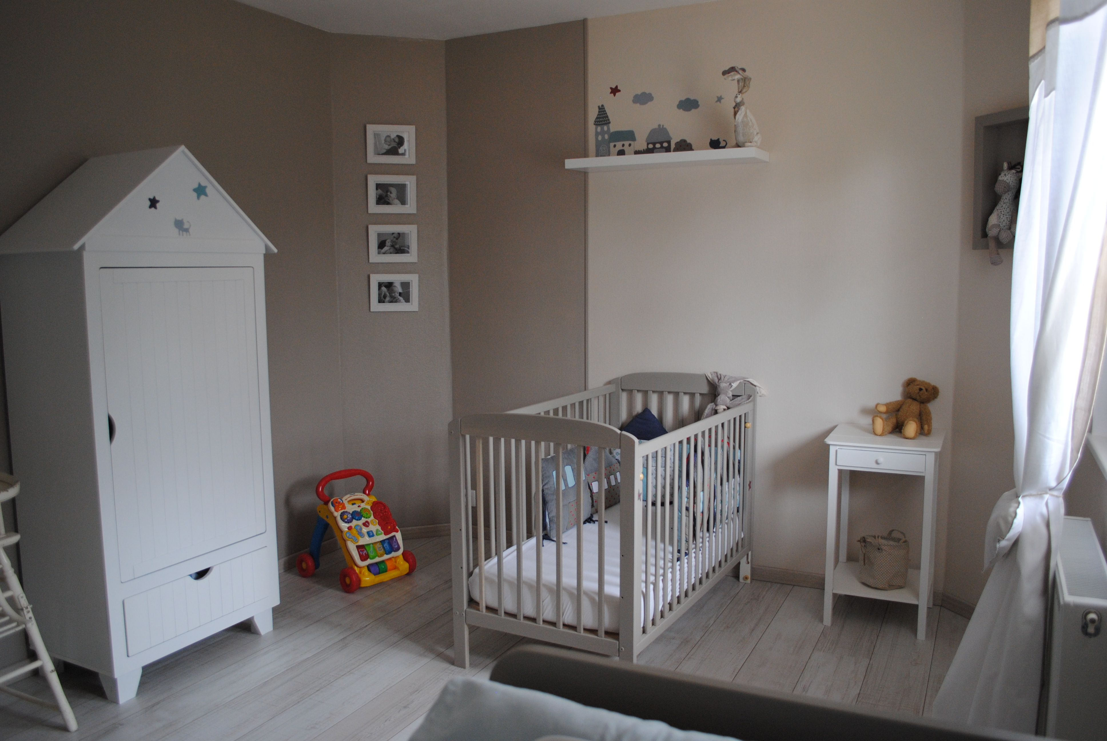 Chambre bebe grise occasion